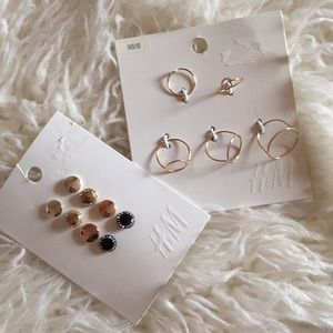 H&M earrings & rings